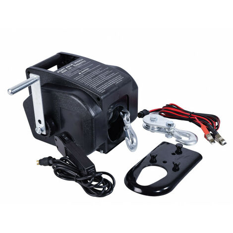 Treuil électrique 12v - 900 Kg