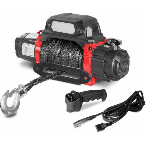 Treuil électrique 12V synthétique 5443 kg 26m haute vitesse MW-Tools SEL550012SR