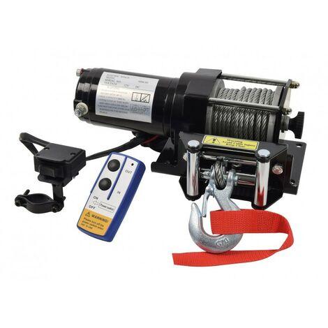 Treuil Electrique 4X4 12V 1360Kg - Cable de 9M