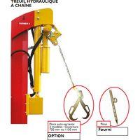 Treuil hydraulique pour fendeuse de bûches - Rabaud