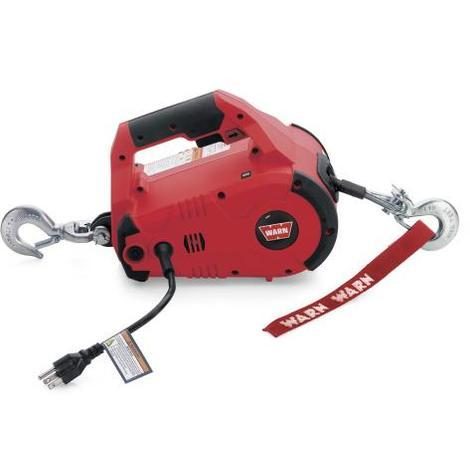 Treuil ?lectrique Warn 230V - Pullzall 220v - charge max 450kg - c?ble 4,5m