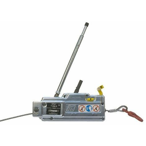 Treuil manuel à câble passant - Charge max 800 à 3200kg (plusieurs tailles disponibles)