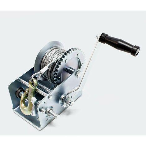 Treuil manuel de halage 1100kg 10m 4:1/8:1 outils garage atelier bricolage