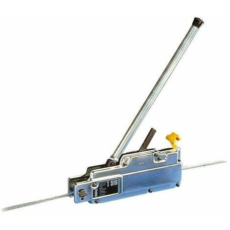 Treuil manuel tirfor 1600 kg cable 20 m de 11.5 mm - 58439