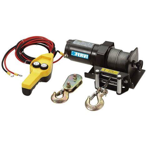 TREUIL PALAN ELECTRIQUE LEVAGE A CABLE 12V FERVI 0630/0900