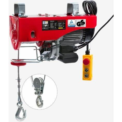 Treuil Palan électrique Treuil à câble électrique Potence Pivotante 500/1000 kg