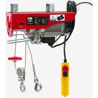 Treuil Palan électrique Treuil à Câble électrique Potence Pivotante 500 1000 Kg