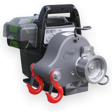 Treuil portable PCW3000-Li 700 Kg 80/82 Volts + 2 batteries + chargeur
