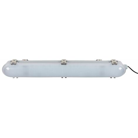 Tri-Proof Outdoor Lighting Batten Light Plastic 2Ft White 20W Ip66 Rated & LED