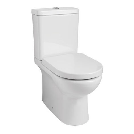 TRIA Stand WC spülrandlos, weiß (enthält: WC, Spülkasten, Innenleben, WC-Sitz)