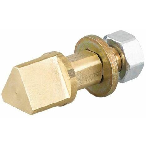 Triangle à poser pour serrure à larder en carré de 7 mm, type 11 mm