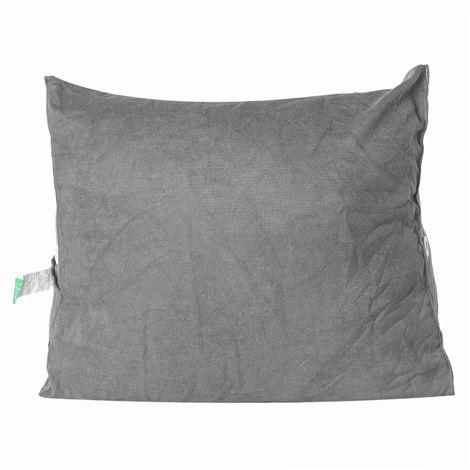 Triangular Bolster Reading Corner Pillow Headboard Bed Rest Soft Cushion Gray