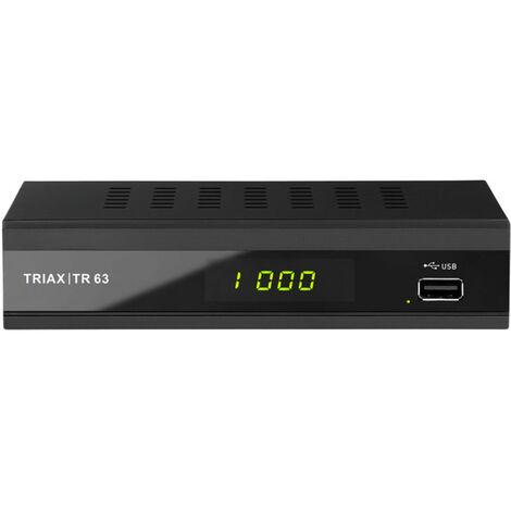 Triax DVB-T2 Receiver TR 63
