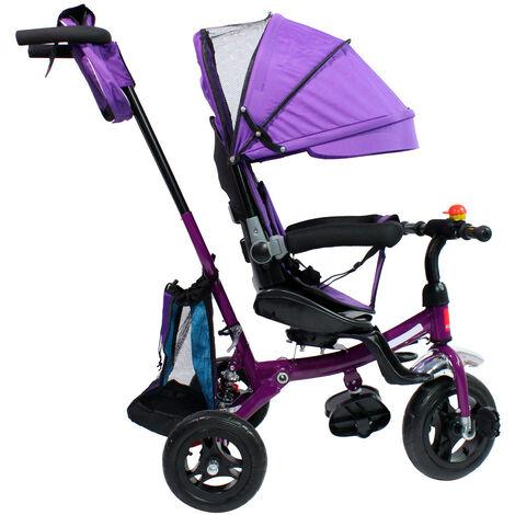Triciclo con Techo para Niños Transformable Pacifier 3 en 1