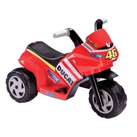 Tricycle / Mini Moto électrique 6V pour enfant DUCATI DESMOSEDICI | Rouge
