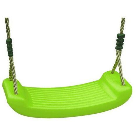 TRIGANO Balançoire Plastique Verte pour Portique 1,90/2,50m