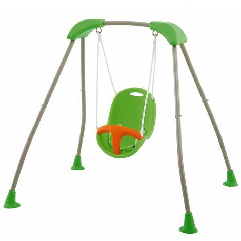 TRIGANO Balançoire pliable de bébé Tatou Funny 118x142x124cm J-10180P8