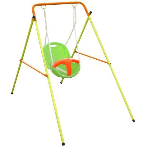 TRIGANO Funny Baby Swing Set Emma 94x145x120 cm Steel J-10153P9