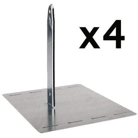 TRIGANO Kit d'ancrage pour balançoire Secur'in J-900590