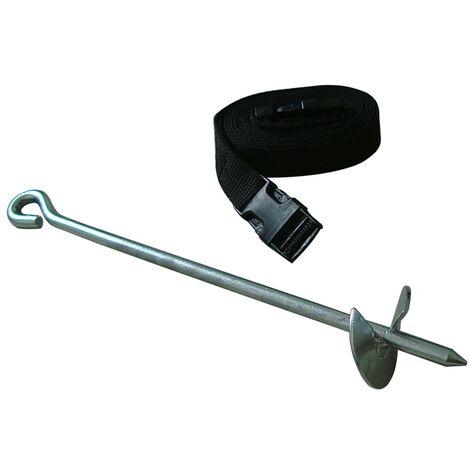 TRIGANO Kit d'ancrage pour trampoline