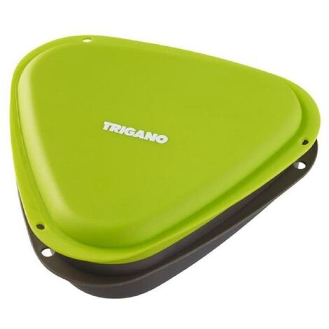 TRIGANO Lunch box - Vert et noir