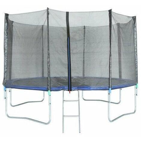 Photo de trigano-trampoline-avec-filet-de-securite-427-cm