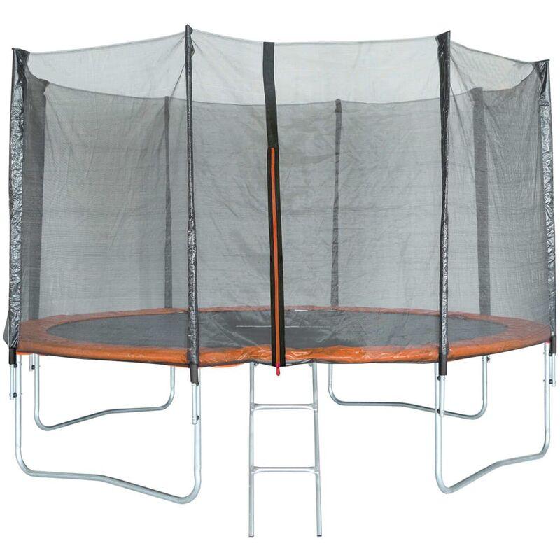 Trigano trampoline avec filet de sécurité 427 cm Rogal