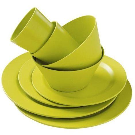 TRIGANO Vaisselle Bambou - Vert