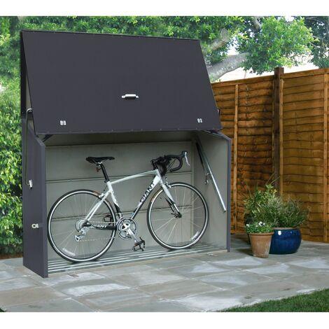 Gartenbox Trimetals Kissenbox Auflagenbox XXL anthrazit Gartentruhe