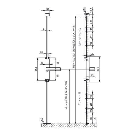 "main image of ""Tringle 2500 mm ALMA - Ral 9016 Blanc - 2800250005"""