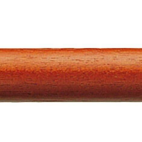 Tringle à rideaux Tube de décoration 19Mm 150Cm Bois de cerisier Epid 21193203150