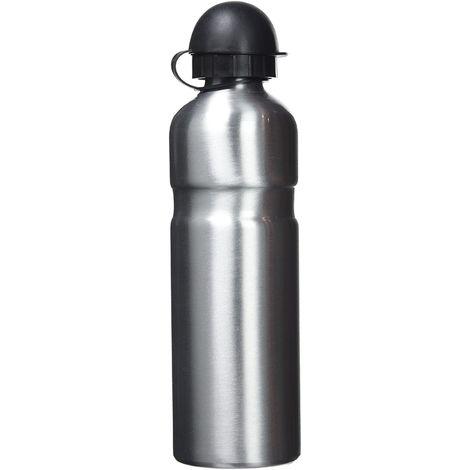 Trinkflasche Alu 750ccm silber