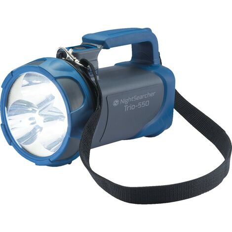 TRIO 550 Nightsearcher Li-Ion Rechargeable LED Hand Lamp Torches