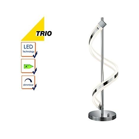 472910106 Lampe SydneyH63 Rotatif14 Table Led CmChromeAvec Trio Variateur Ausgefallene De 5 W orCxdBeW