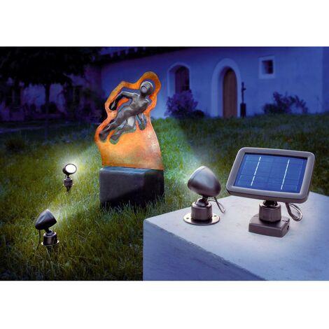 Trio spot solaire led
