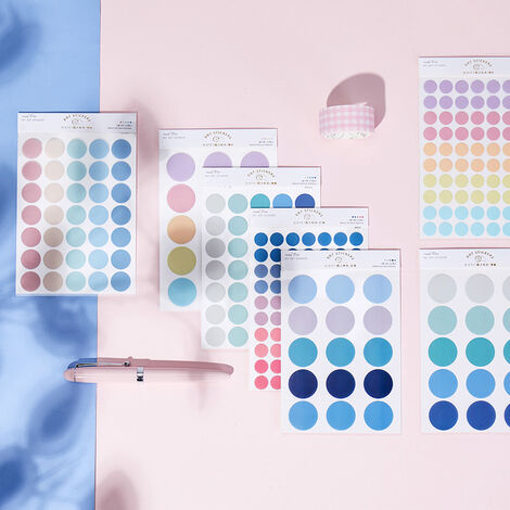 TRIOMPHE 600 pièces couleur aléatoire Album Photo Album Photo journal mural projet faire heureux carte décoration joint autocollants