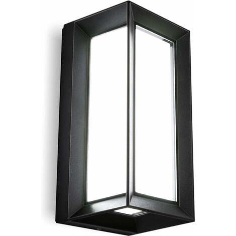 """main image of """"Triomphe Applique LED escalier couloir lampe salon chambre lampe chevet applique noir 18W"""""""