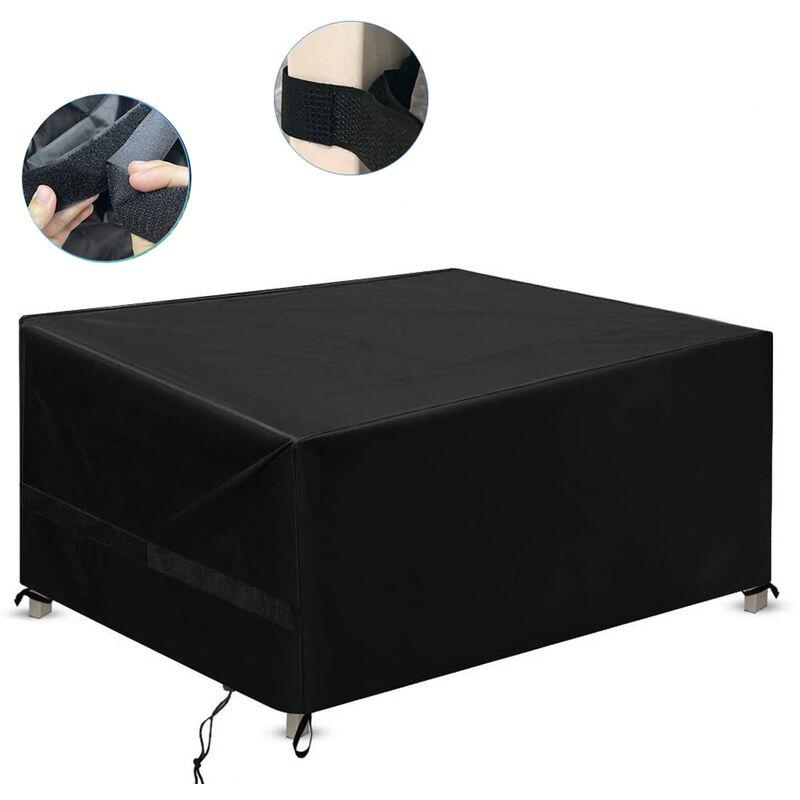 Couvertures de meubles de jardin - Protection étanche Couverture de protection 420D Terrasse robuste de plein air pour table, canapé, fauteuil,