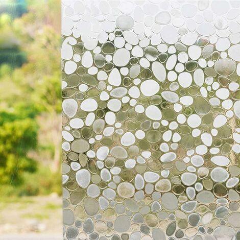 Triomphe Film de vitre Film Film Film Mot de décoration murale Papier peint électrostatique pavé 45 * 100cm