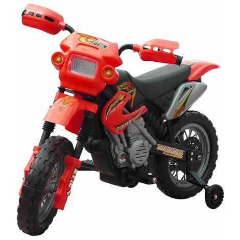 TRIOMPHE Moto électrique pour enfants Rouge
