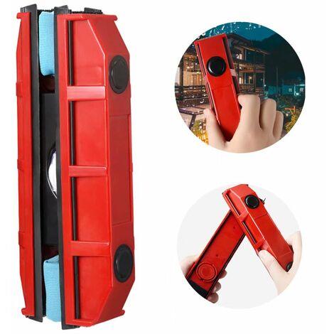 TRIOMPHE Raclette lave vitre magnétique pour vitrage de 2 à 8 mm