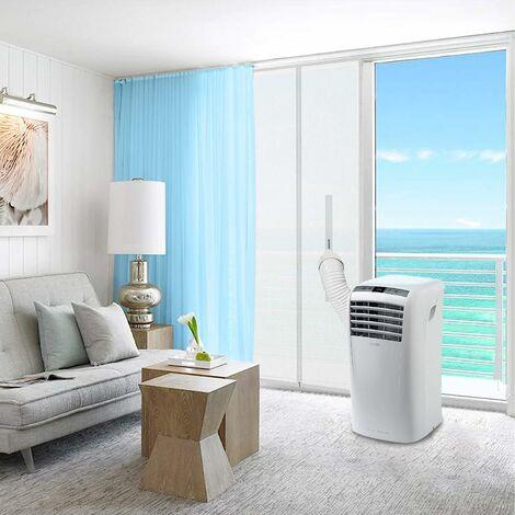 Triomphe Rideau, peut être utilisé pour le balcon, la porte, la climatisation mobile, la climatisation, un sèche-linge, un séchoir à air d'échappement, une unité d'air chaud avec fermeture à glissière, 90x210 cm