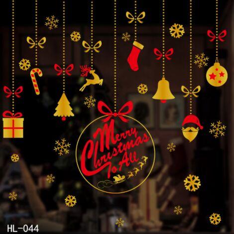 Triomphe Stickers de Noël Décoration de Noël Sticker Sticker Décoration de décoration de Noël DIY Sticker (HL-044
