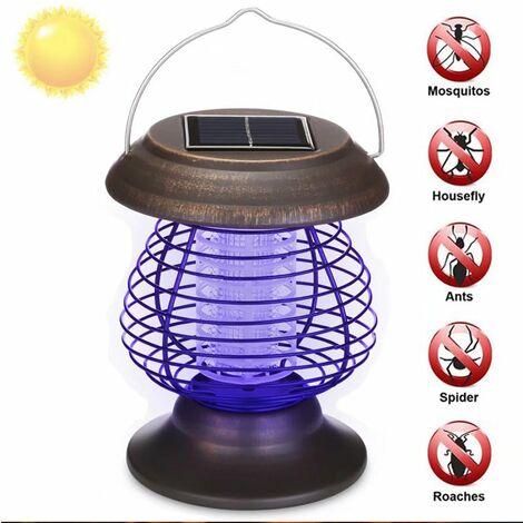 """main image of """"TRIOMPHE Suspension solaire portable tueur de moustique lampe de moustique tueur de moustique extérieur étanche pelouse jardin lampe"""""""