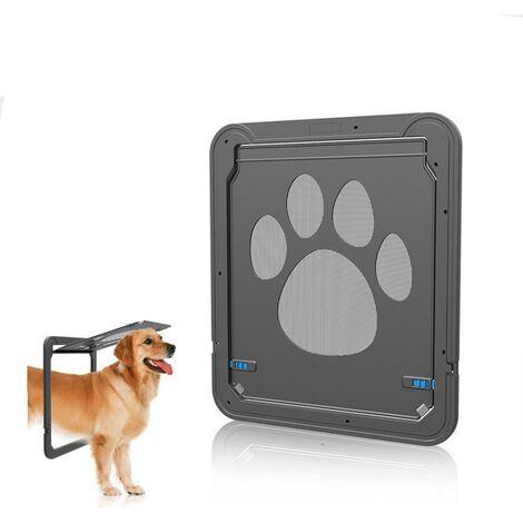 TRIOMPHE Trou de porte pour chien noir