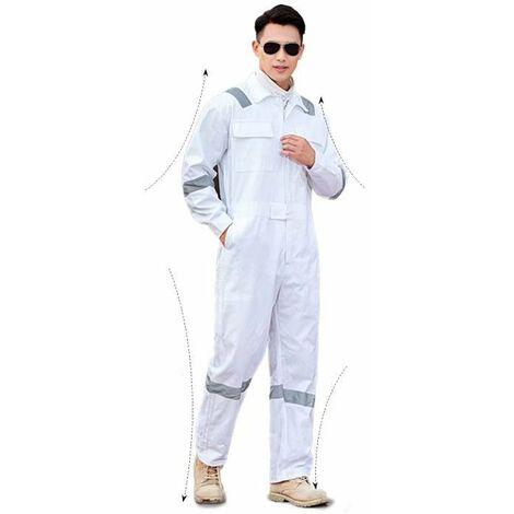 TRIOMPHE Vêtements de protection, vêtements de jardinage, salopettes, (XXXL blanc)