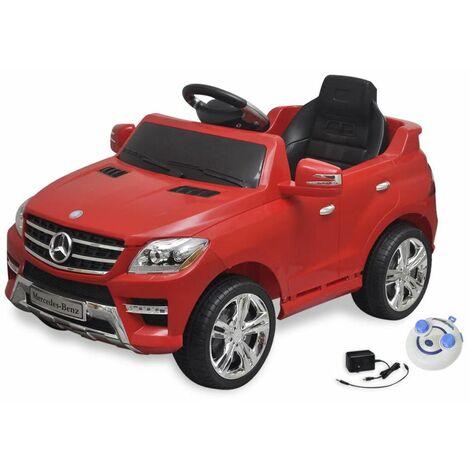 Triomphe Voiture électrique pour enfants Mercedes Benz ML350 Rouge 6 V