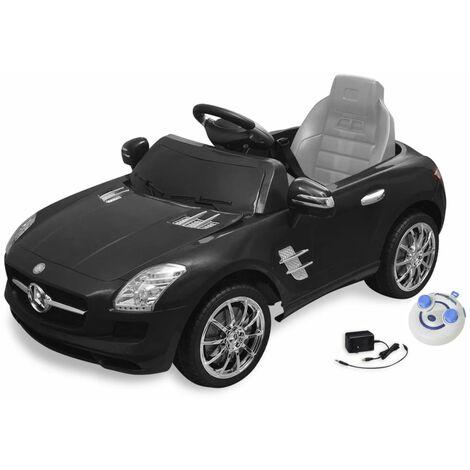 Triomphe Voiture électrique pour enfants Mercedes Benz SLS AMG Noir 6 V