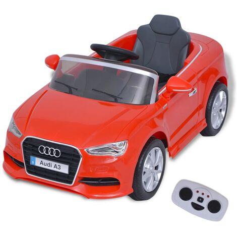 Triomphe Voiture électrique pour enfants télécommandée Audi A3 Rouge