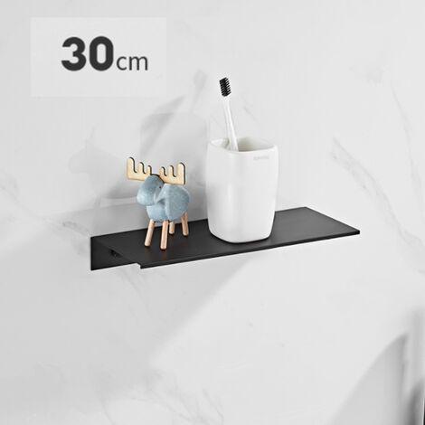 Triomphe WC Sans Punch Tablette de salle de bain Single Fashioned Watchsin de lavabo Montage mural Vasque de lavabo Stockage Toilette avant 30 cm